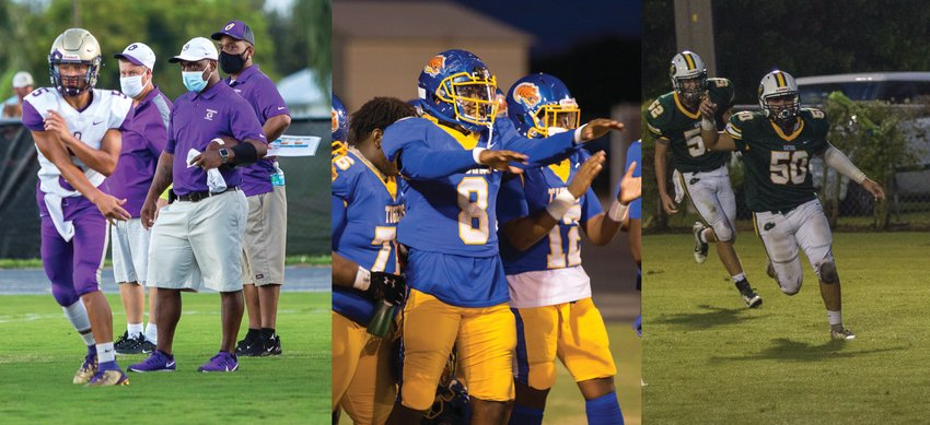 The Brahmans, Tigers, Gators and Terriers now all know who they'll face in the playoffs this year.