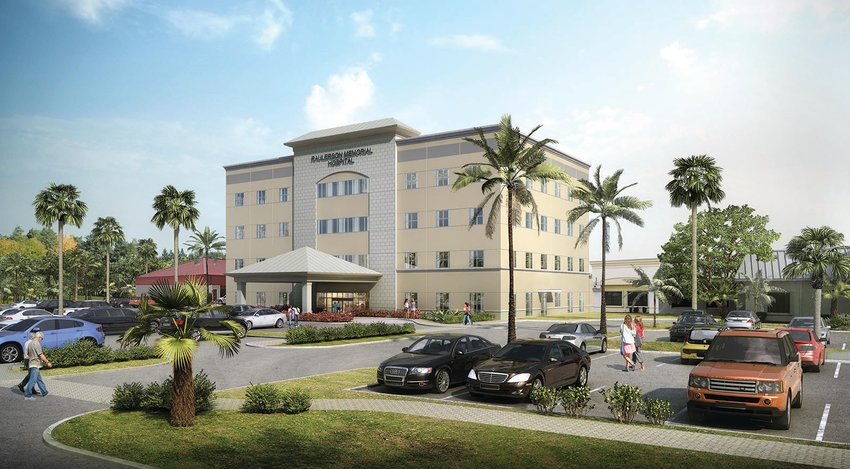 OKEECHOBEE — An artist's rendering shows the multi-story medical office building planned for construction late this year on Raulerson Hospital's property to assist the company with physician recruitment.