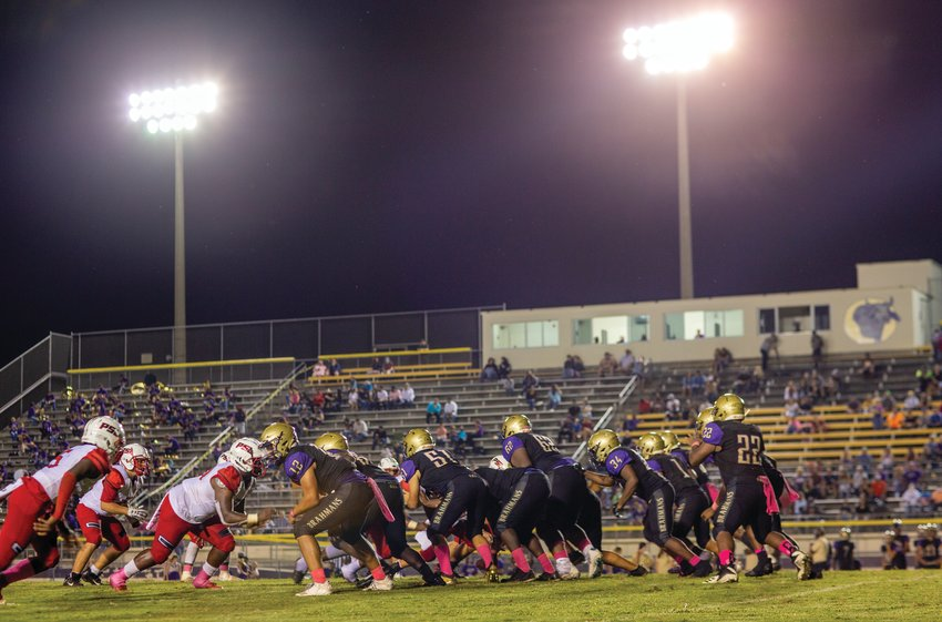 The Okeechobee Brahmans were able to take care of business in the second half of their game against PSL.