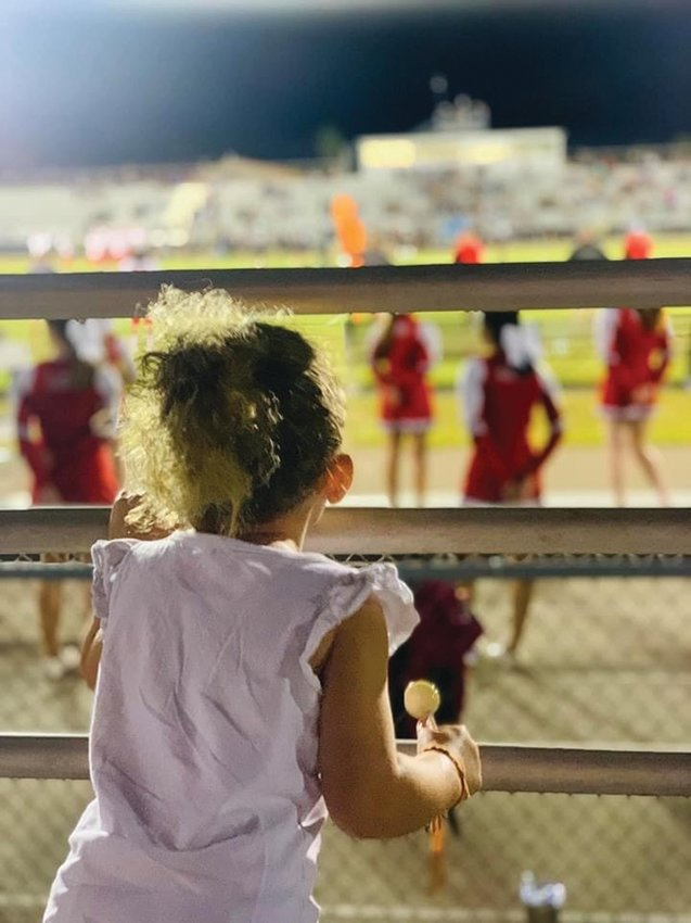 Photo by Danika J. Fornear: LHS Friday night football is a much celebrated tradition, and will certainly be missed this week.