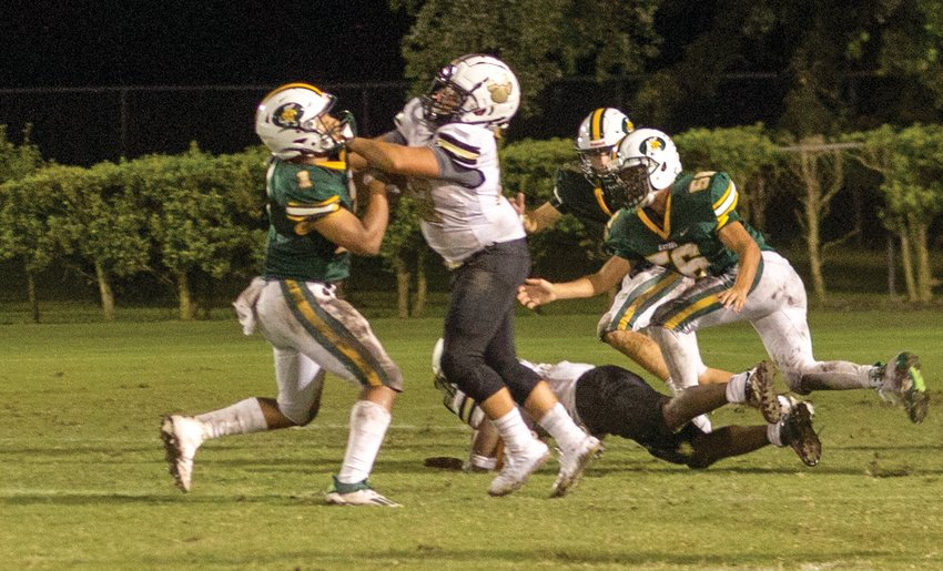 The Glades Day Gators are now out of the playoffs, but the Moore Haven Terriers have a chance to move on.
