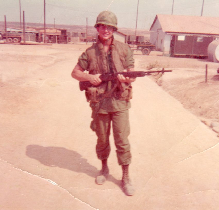 Veteran Bobby White had some hairy times in Vietnam, but said it was not as bad as a lot of people had it.
