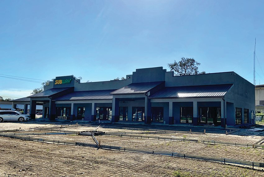 The new home for the existing Subway Sandwich Shop, this location will also have several other spaces available for rent where businesses can operate.