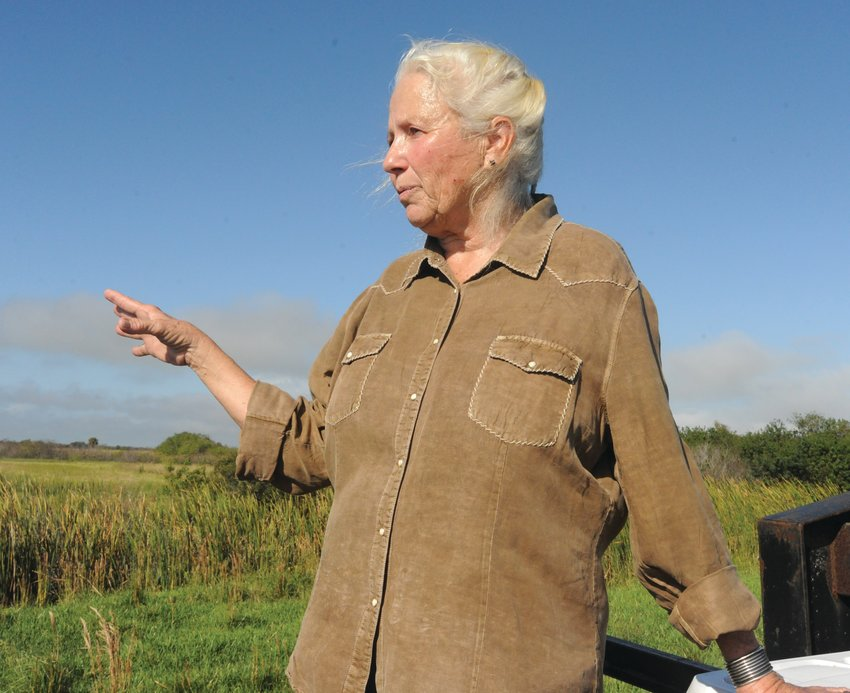 OKEECHOBEE — On Nov. 14, Terry Daniel led a tour of her ranch for the Florida Cattlewomen's Association.