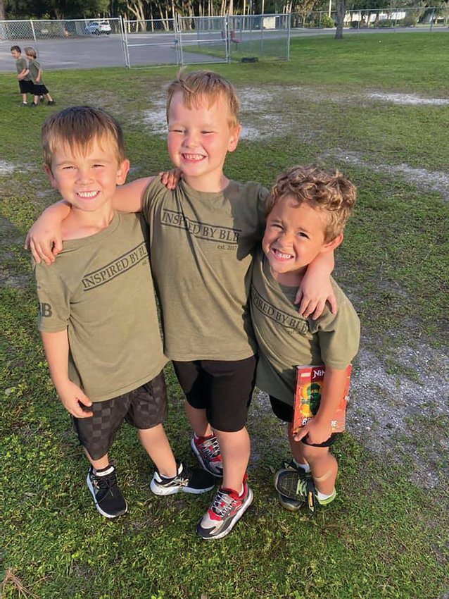 OKEECHOBEE — Students at Rock Solid Christian Academy are happy to be back in school again with their friends.