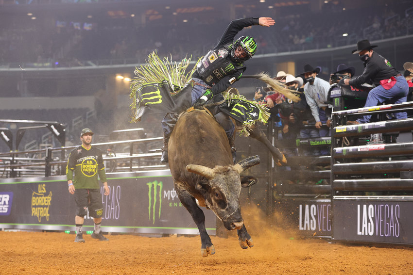 The Professional Bull Riders (PBR) events pit the top 30 bull riders in the world against the toughest bulls around.