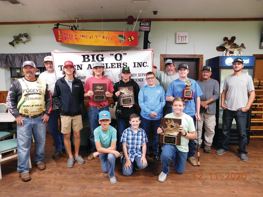 OKEECHOBEE — The Big O Teen Anglers celebrated with friends, family and boat captains at Pogey's Restaurant.