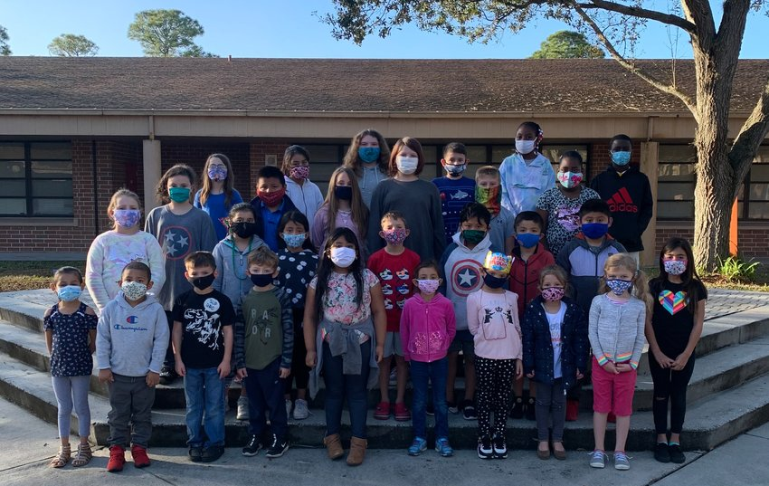 Everglades Elementary School's Students of the Week for the week of Feb. 8.