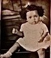 Gwen Patrick Griffiths as a baby.