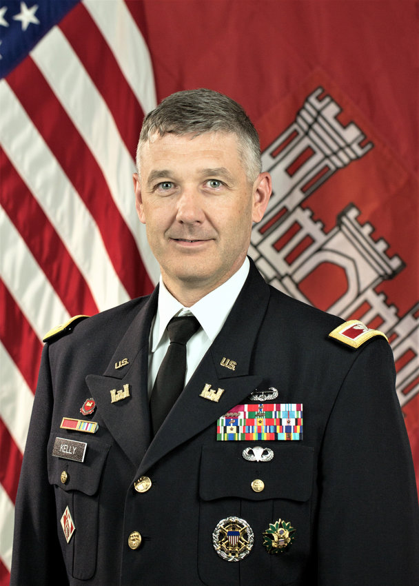 Colonel Andrew Kelly, District Commander, US Army Corps of Engineers.