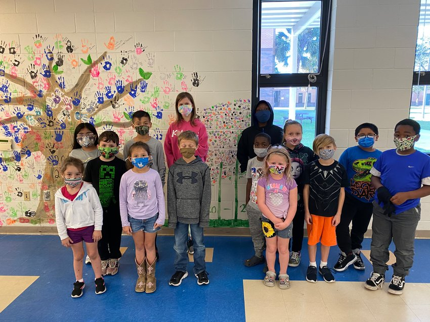 Students of the Week for Feb. 16 at South Elementary School.