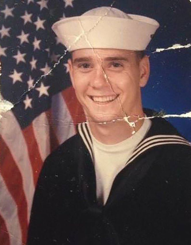 John Kenbeek joined the Navy soon after graduating from OHS.