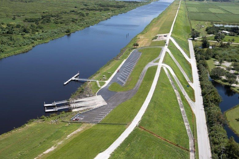 The South Bay boat ramp will be closed April 12 and 13 for repairs to the Herbert Hoover Dike,