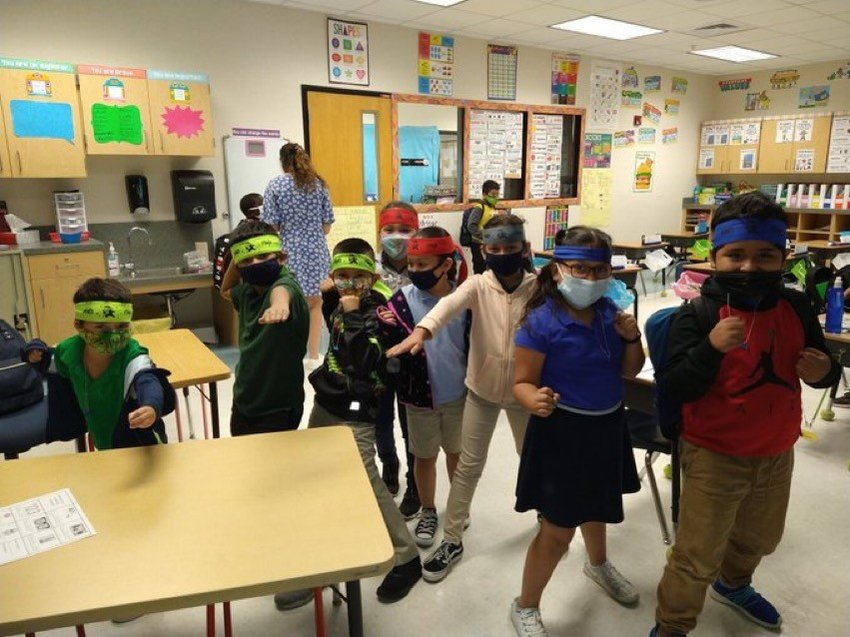 Math Ninjas are on the campus at EPE!
