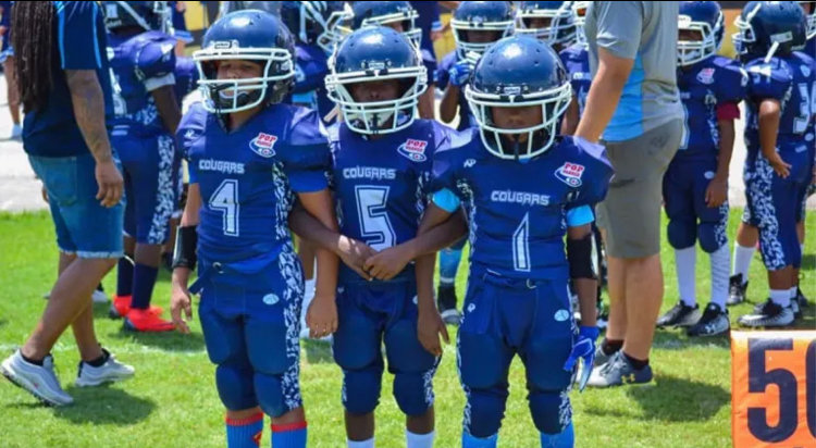 Clewiston Cougars football players start out as young as age 5.