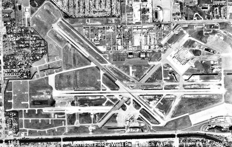 Palm Beach Air Force Base is a former United States Air Force base located in Palm Beach County, just west of West Palm Beach, Florida. During its operational use by the military, its major mission was air transport and as a training base. It was closed in 1962. During World War II, it was known as Morrison Army Airfield, taking its name from the civilian airport, Morrison Field, from which it originated.