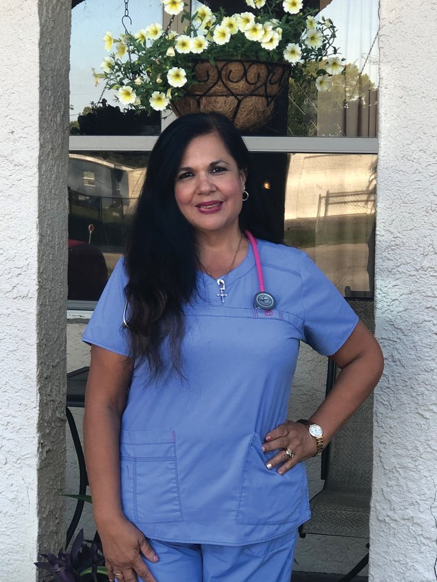 Marcy Spelts has been a nurse for 30 years and can't imagine doing anything else.