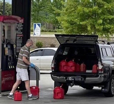 Panic buyers have caused several gas stations to run out of gas in LaBelle.