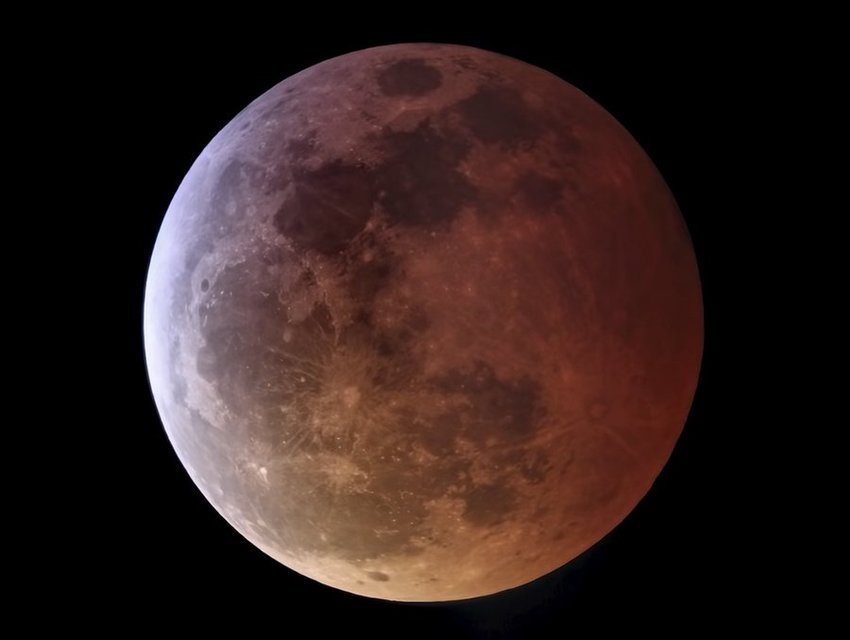 The first total lunar eclipse in two years took place on May 26 and was also a Super blood moon.