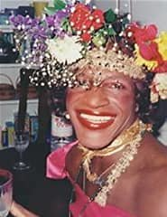 Known as an outspoken advocate for gay rights, Marsha P. Johnson was one of the prominent figures in the Stonewall uprising of 1969.