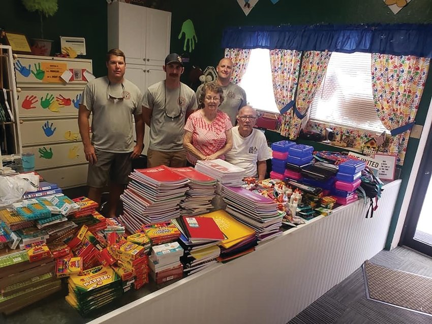 The donations were taken to My Aunt's House, where they will be distributed to those in need.