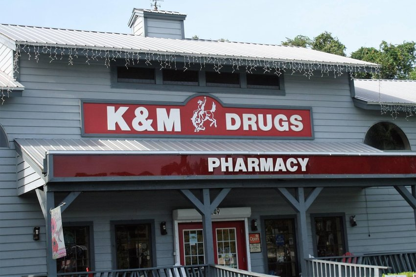 K&M Drugs, in LaBelle, offers rapid covid tests and covid vaccines.