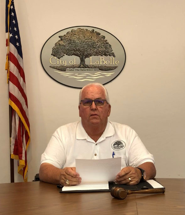 City of LaBelle Mayor David Lyons is running for re-election after many years of service to his community.