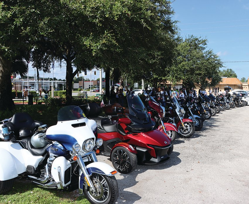 Rolling Thunder rode into LaBelle bright and early on Saturday, August 21.