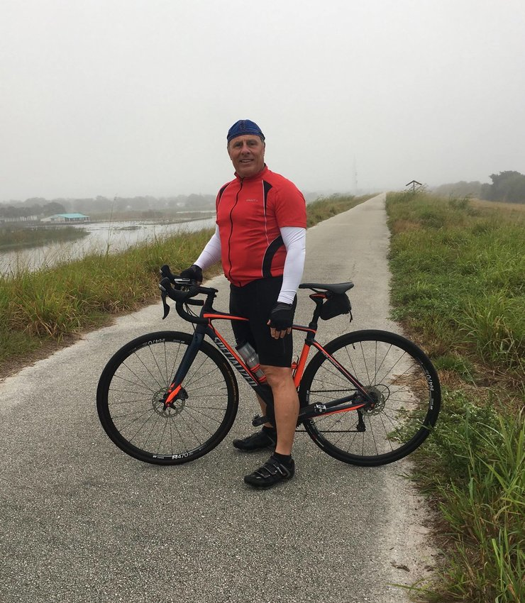 Interim City Administrator Gary Ritter is an avid bicyclist and a 50-mile ride is a regular occurrence in his life.
