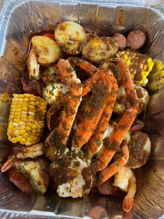 Paleteria la Victoria's seafood boils become one of their most popular menu items.