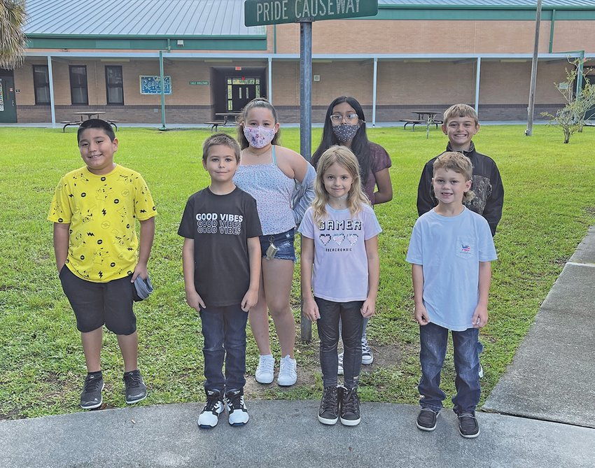 South Elementary Students of the Week for the week of Sept. 13.