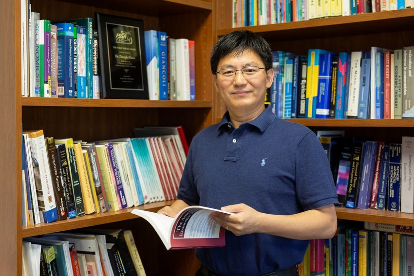 Dr. Zhengfei Guan, the UF/IFAS economist who led the study.