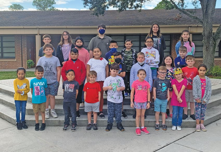 Everglades Elementary Students of the Week for the week of Oct. 4.