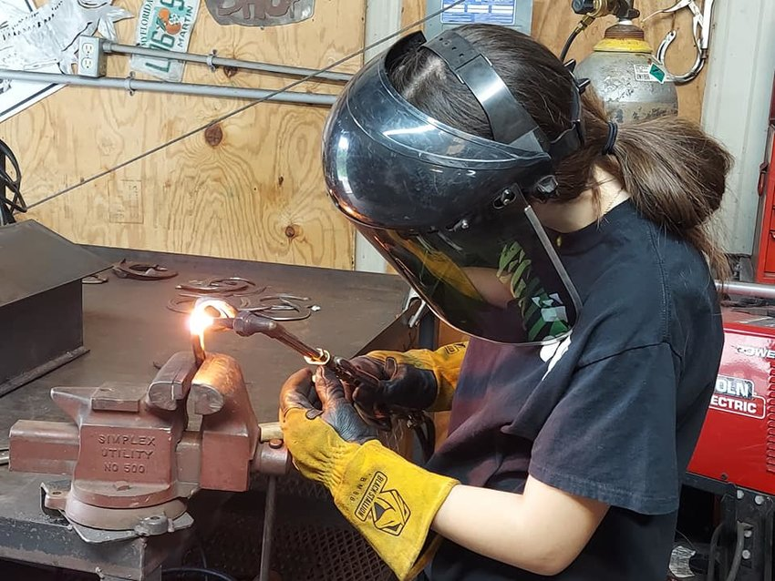 Welding is one of the vocational programs offered through Project LIFT.