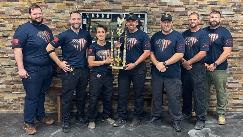 On Thursday Oct. 21, Okeechobee County Sheriff's Office participated in the 4th Annual OASIS Shootout with its team of William Hill, Heath Hughes, Brian Lowe, John Hazy, Ryan Ammons and Alternate, Dory Sanchez.