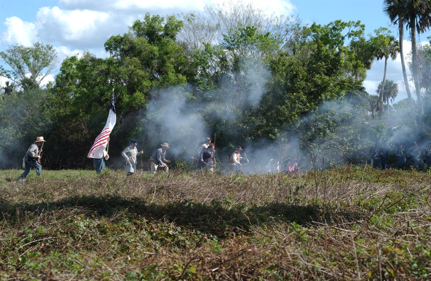 OKEECHOBEE — The Battle of Okeechobee Re-enactment, traditionally held each year in February at the Okeechobee Battlefield State Park, has been canceled for 2021 due to concerns about the spread of the COVID-19 virus and limits on crowds at the park.