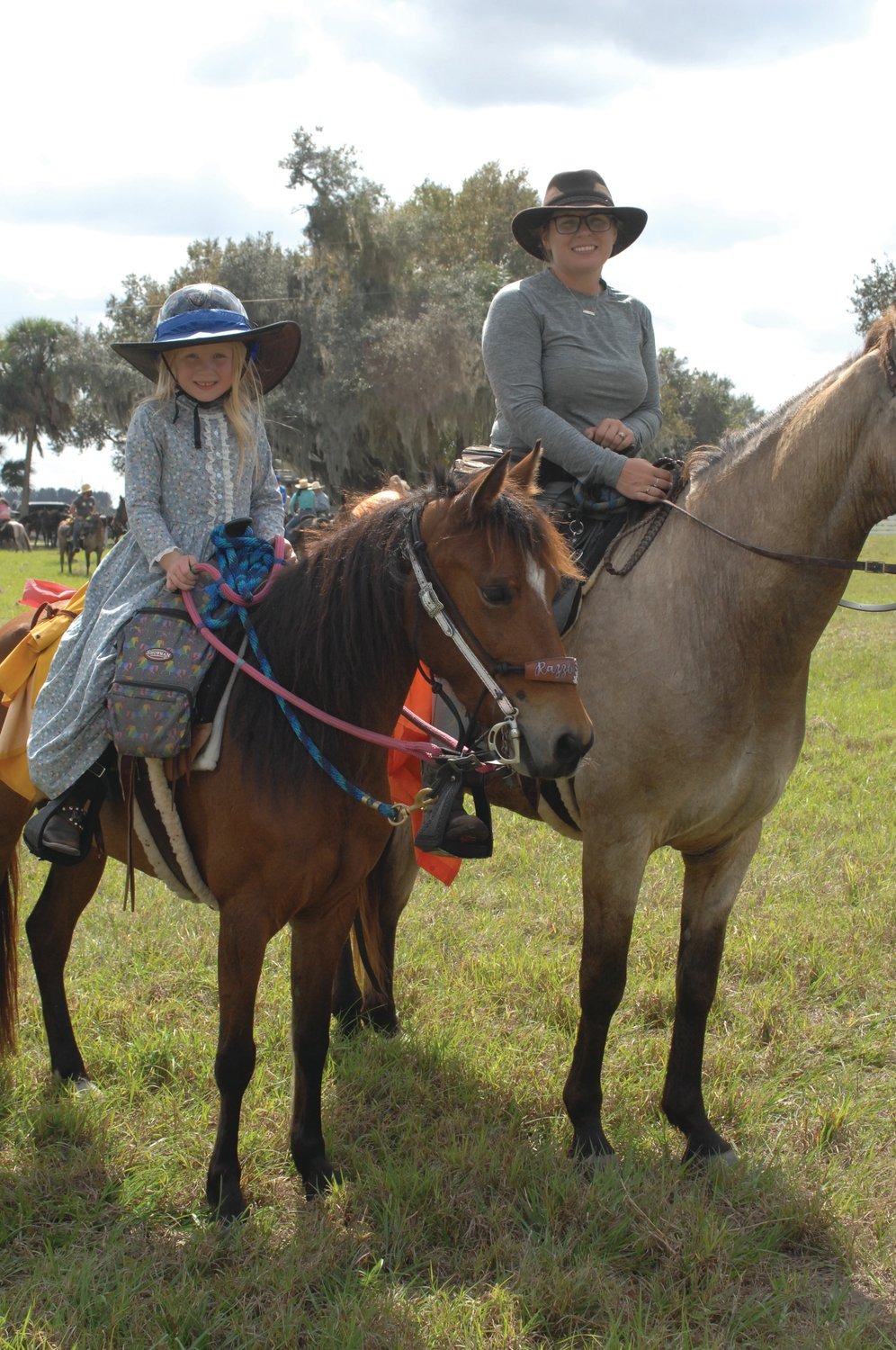 For some, the annual ride is a family affair and a chance for children to learn Florida history.