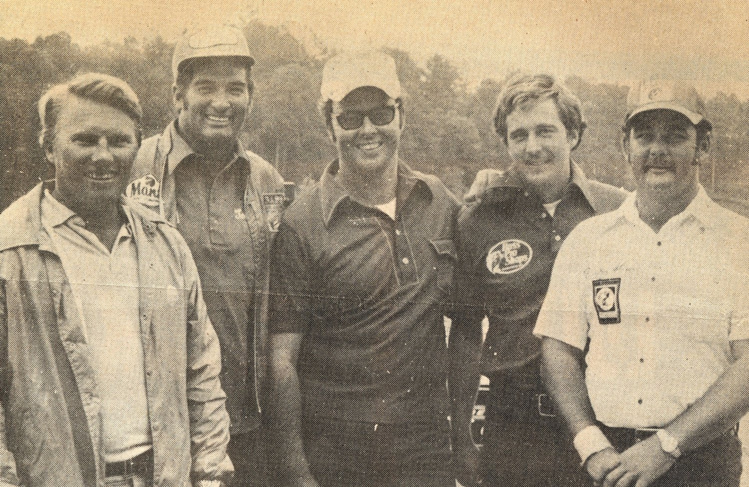 Left to right: Legendary anglers Roland Martin, Tom Mann, Bill Dance, Johnny Morris and Ricky Green.