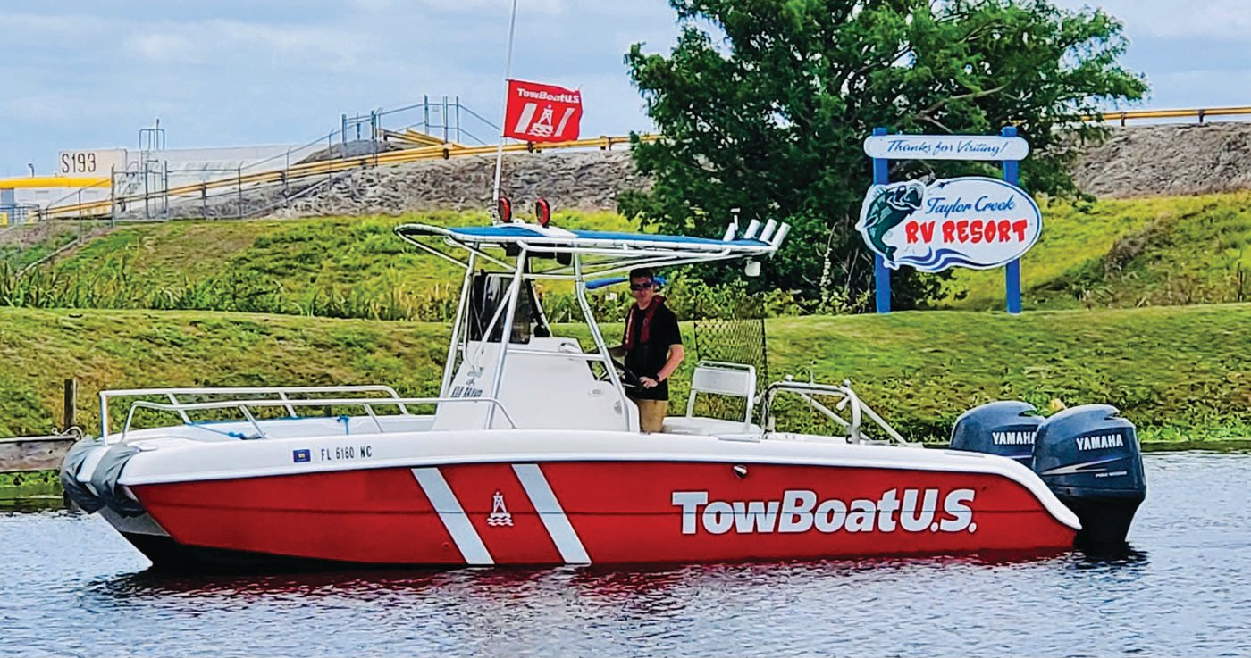 BoatUS offers on-water Unlimited Towing Memberships for Florida boaters and anglers