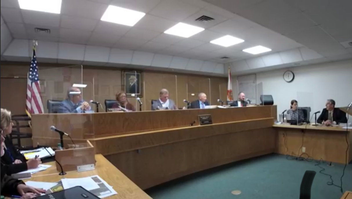 The Hendry Board of County Commissioners hold a regular meeting at the Hendry County courthouse on Tuesday, April 27, 2021.