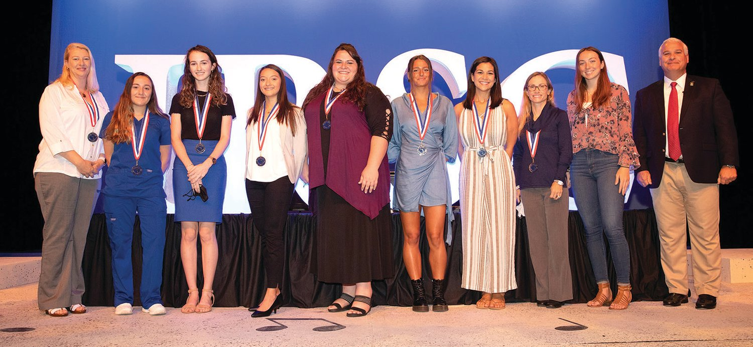 All-Florida Academic Team are: Alyssa Carter, Erifylli Maroutsou, Jennifer Palmatier, Joy Jarriel (Okeechobee), Lillian Demaris, Mallory Roney, Maria Hernandez Lopez, Natalie Carltons, and Sarah Pamer. Not pictured are: Justin Sanchez, Edward Teran, Christian Salguero and Jan Hobbs.