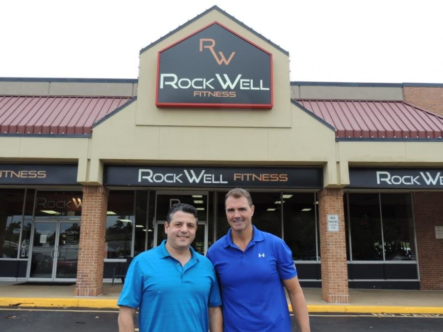 Sid Saab and Brian Chisholm officially became the new owners of RockWell Fitness on September 1.