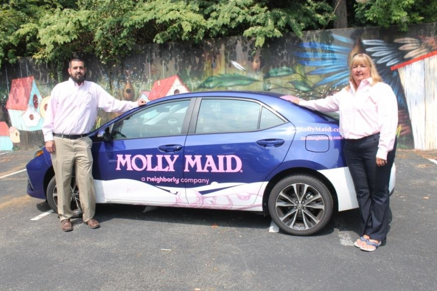 Donna and Mike Reilly hope that the future of Molly Maid is as bright as the last 20 years.