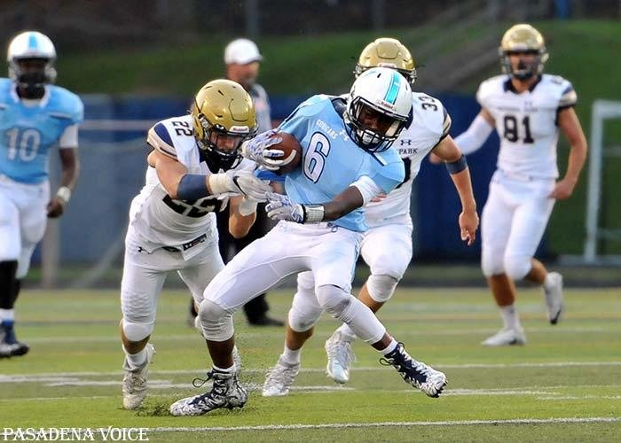 Chesapeake receiver Russell Tongue is one of several returners for the Cougars, who hope their depth and talent at skill positions can lead them back to the 3A playoffs this fall.