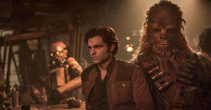 """Solo"" gives all the standard reveals you'd expect from a prequel, none of which we really needed to know. We learn how Solo got his name, how he met Chewbacca, how Lando Calrissian became his friend, and how he became pilot of the Millennium Falcon."