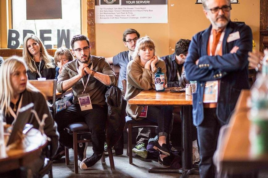 During a coffee talk with filmmakers, attendees can pick the brains of the festival's most in-demand industry professionals.