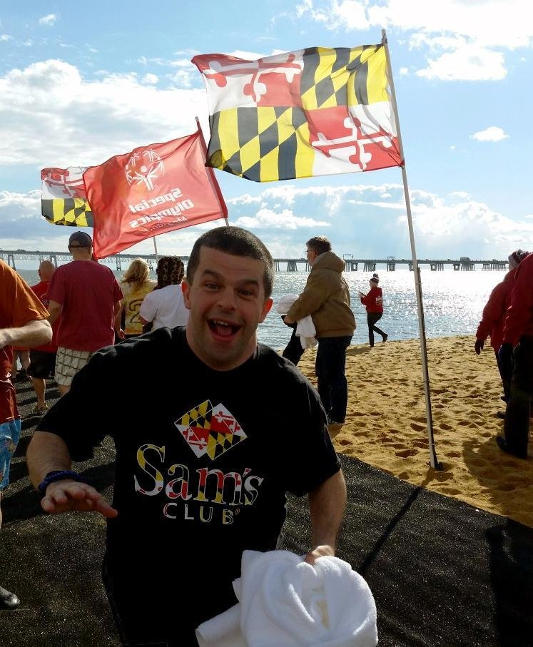 Davidsonville native Michael Heup is both a Special Olympics Maryland athlete and a Super Plunger.