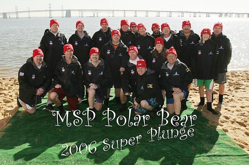 The Super Plunge started with three people in 2004, and by 2006, the team had around 20 members.