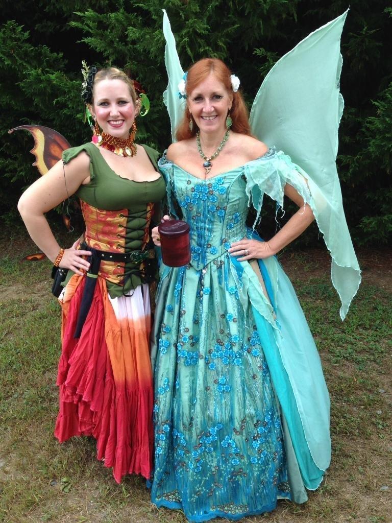 Local Garb Seamstresses Adorn Maryland Renaissance Festival
