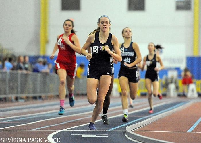 Severna Park S Emily Knight Is 4a State Champion In 500 Meter Dash Severna Park